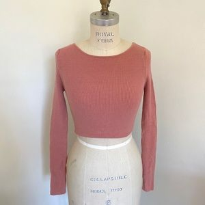 Urban Outfitters tie back long sleeve